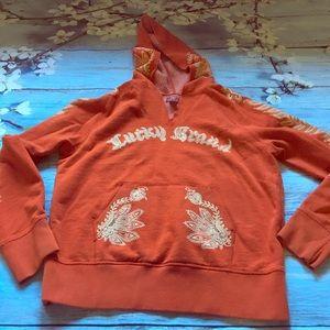 Lucky Brand Boho Print Sweatshirt